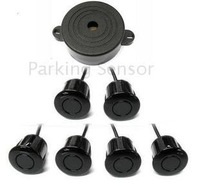 Guaranteed 100% New Buzzer Only Car Parking Sensor System with 6 Sensors Reverse Sensor Parking Radar