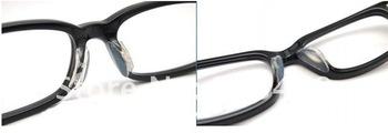 soft stick on Nose Pads Eyeglass sunglass glass glasses frame silicone eyewear good quality  2.5MM CN post