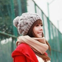 Pumpkin Style ladies' fashion knitted hat  warm hat Shipping free