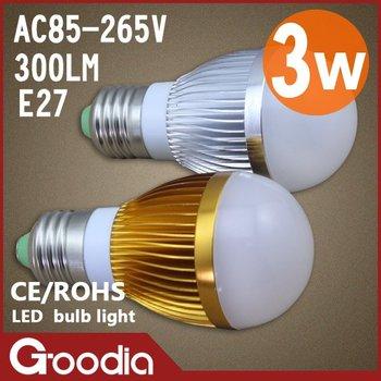new design, 3w/5W/7w led light bulbs E27,AC85~265V,2 year warranty ,aluminum,450lm,CE&ROHS, led lbulbs,2pcs/lot,free shipping
