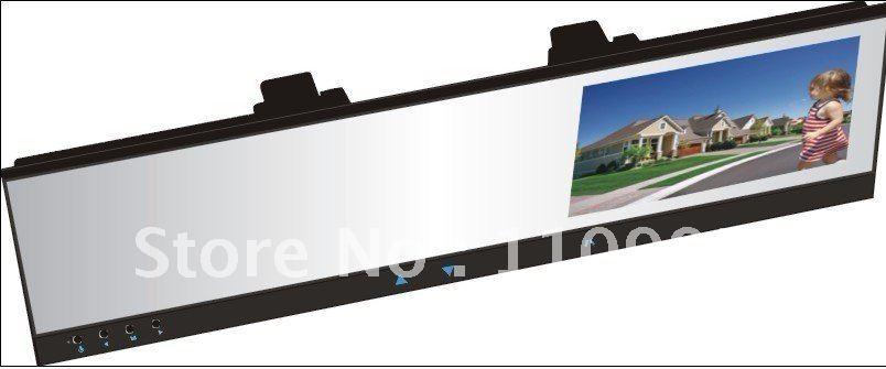 "Mini HD Car DVR +4.3"" TFT rearview mirror monitor wireless camera system(China (Mainland))"