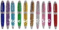 (100 pcs)Crystal pen,Jeweled pen,Bling bling pen,diamond pens/promotional pen