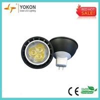 Free shipping 10pcs/lot 4W 220LM LED spotlight MR16