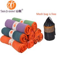 Free FedEx  Shipping, Yogitoes yoga towel, grip towel with silicone dot, silicone yoga towel grip dot 24x68inch, SGS certificate
