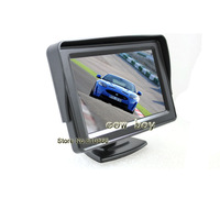 "4.3-inch TFT LCD monitor Free Shipping New Wholesale 4.3"" Color Dashboard Backup TFT Car LCD Monitor CB-M012"