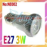 Wholesale AC 90V-265V 360LM 3W LED Spot Light with Epistar chip Free shipping CE ROHS #NE002