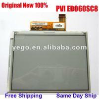 "Free Shipping + Original New 100% ED060SC8 (LF) 6"" e-ink Display, Warranty: 1 Year"