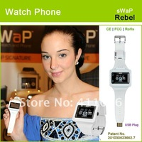 "sWaP-Rebel Fashion FM, MP3, colorful wrist watch mobile phone with 1.35"" touchscreen"