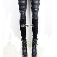 freeshipping  Imitation Leather Leggings - Fashion Women Tight Trousers, Promotion!  2012 new hot
