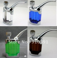 FREE SHIPPING,Retail Pack 5 colors Circulation Cigarette pipe for healthy smoking water filter hookah,personal collection.