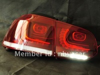 RHD right hand driving GOLF 6 LED tail lights