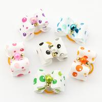 dreambows Handmade Small Dog Accessories Balloon Bubble Ribbon Bow 22014 Dog Hair Bow, Puppy Supplies