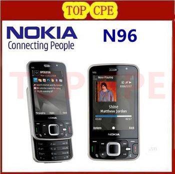 Refurbished N96 Original Mobile phone Nokia N96 16GB Storage 3G WIFI GPS Camera 5MP Fast Free Shipping