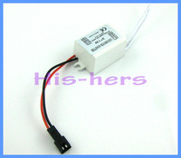 Free shipping 10pcs 3x1w LED Light Driver Non-Waterproof Power Supply DC9V~14V