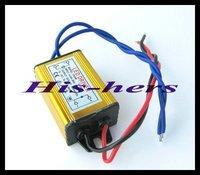 Free shipping 10pcs/lot (2-3)x 3w LED Driver 85/265V AC input,5/12V DC output Power Supply