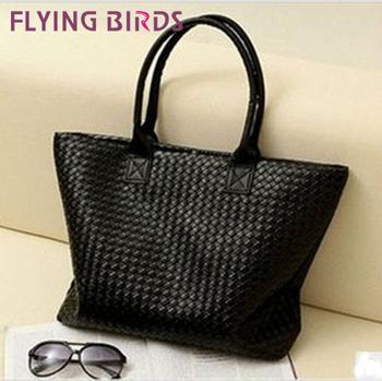 Flying birds! 2015 Women's bags pu leather handbag shoulder Bag Handbags free shipping LS0408