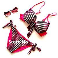 New arrival! stripes bikini Sexy Bikini for women Swimsuit  swimwear for women bathing suit  free shipping