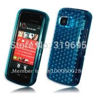 Diamond BLUE Armor Gel Silicone Case Skin Cover Protector For Nokia 5230