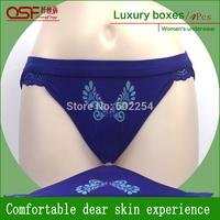 Hot Wholesale!!! Free Shipping Breathable 100% Bamboo Fiber Fashion Women Silk Briefs Women Underwear Bamboo Panties Lingerie