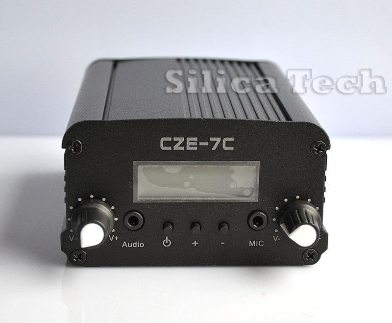 7W stereo PLL FM transmitter broadcast radio station-TNC port(Hong Kong)