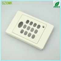 1 piece plastic enclosure with keypad  115*75*15MM 4.5*3*0.6 inch