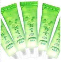 Chinese brand cosmetics,Whitening nourishing aloe vera gel 13g natural face cream,Acne pearl cream,3pcs facial cleanser,bb cream