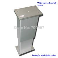 4000N=400KG=880LBS load 5mm/sec=0.2inch/sec speed 300mm=12inch stroke 24V DC lifting column for adjustable height desk