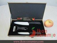 Free Shipping! High Quality Zirconia New 100% 3-pieces AJX Ceramic Knife sets(AJ-TZ3W-SH-BB)