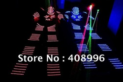LED Luminous robot costume /David Guetta robot suit/ KRYOMAN Robot(China (Mainland))