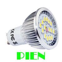 GU10 6w led 5630 SMD 15 LED spotlight E27|E14 Commercial display 3 led bulb lighting energy saving 100V -230V Free Shipping 6pcs