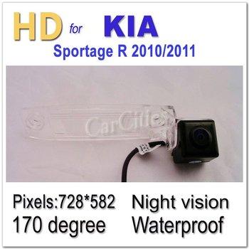 CCD170 degree parking for KIA Sportage R 2010/2011 Waterproof Night version Size126.3*32 mm Pixels:728*582