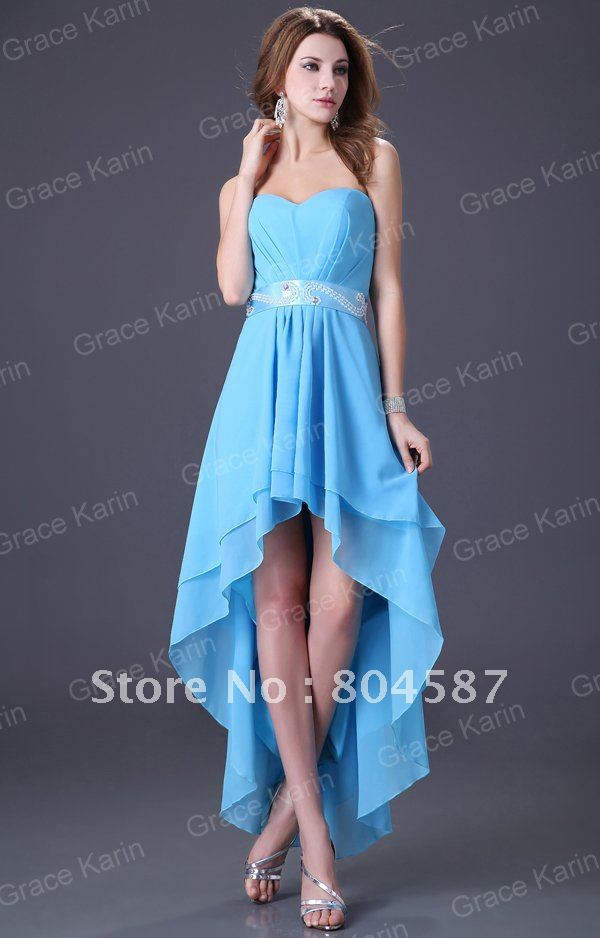 Коктейльное платье Retail! Bridesmaid Strapless Cocktail Prom Ball Chiffon Evening dress Fashion 8Size+3colors sexy, CL1240