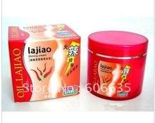 free shipping lajiao Free Shipping Hot Chili Oil Burn Fat Weight Loss Body Slimming Cream 200g