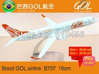 Free Shipping!Brazil aviation model GOL airplane model rc plane model  aircraft model plane kits airline souvenir gift