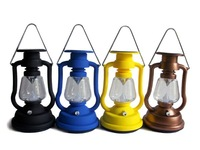 Dynamo and USB+AC+Solar powered camping light 7LED super bright Solar camping lantern 40pcs/lot Free shipping