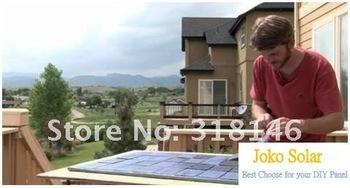 36pcs 4W A Grade Solar Cells +350W 14-28VGrid Tie Inverter DIY  Grid Tie Solar System/Kits