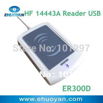 EHUOYAN/13.56Mhz  ISO 14443A Rfid reader Plug and Play USB ER300D Linux