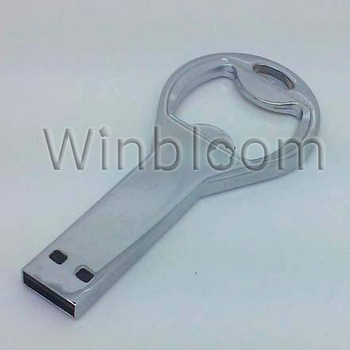 Bottle Opener USB Flash Drive 4GB 8GB 16GB 32GB Real Capacity FREE Shipping USB Pen Drive Length-75mm
