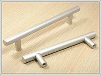 10Pcs Furniture Hardware Solid Aluminum Kitchen T Bar Handles And Drawer Cabinet Bar Handle  (C.C.:128mm,Length:176mm)