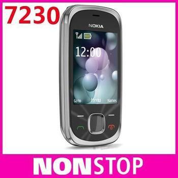 7230 Original Nokia 7230 Bluetooth FM JAVA 3.15MP Unlock Cell Phones In Stock