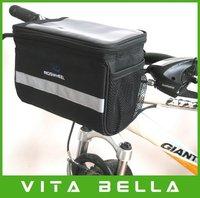 Bicycle Handlebar Bag Bike Cycling Front Tube Pannier Rack  Basket Free Shipping