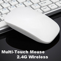 Free shipping  2014 New Smart touch-scroll 2.4g wireless optical mouse mice  for Desktop Laptop PC