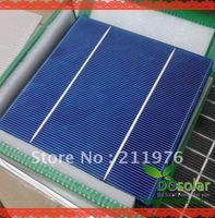 100 Pcs/ Lot, High effiencicy 3.9W-4W 6 inch (156*156) Polycrystalline 2 busbars, solar cell for DIY solar panel , solar system
