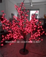 480 LEDs 1.5m Height 110/220VAC 22W LED Cherry Tree Lights for Christams--Free Shipping!!