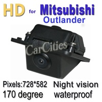 HOT sale Car parking/reverse camera for Mitsubishi Outlander,CCD170 degree,Waterproof &Night version,Pixels:728*582