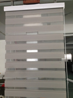 Very popular zebra blinds, sheer elegence, double roller blinds, combi roller blinds customized size many colors
