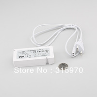 Led Cabinet Light Power Driver 15W  AC100-240VDC Input  DC12V Output  with 6P Junction Box