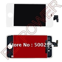 100% New LCD Screen with Touch Screen Digitizer Assembly for iPhone 4S  black and white free shipping by DHL UPS EMS; 100pcs/lot