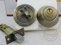 Stainless Steel Tubular Lever Door Locks / DeadBolt Lock