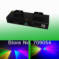 New 2014 Chrismas stag lights 50mW Green + 200mW Red + 250mW Yellow +300mW Blue dj equipment for light show